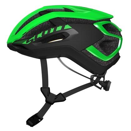 Capacete Bike Scott Centric Plus Verde Fosco e Preto
