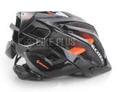 Capacete Bike Scott Vanish 2 MTB Preto e Laranja