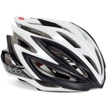 Capacete Bike Spiuk Dharma Preto Branco