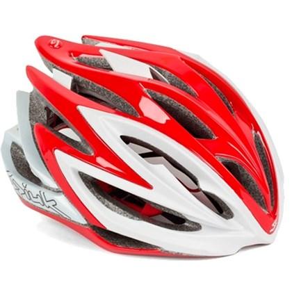 Capacete Bike Spiuk Dharma Vermelho Branco
