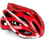 Capacete Bike Spiuk Keilan Vermelho Branco