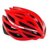 Capacete Bike Spiuk Nexion 2016 Vermelho Preto