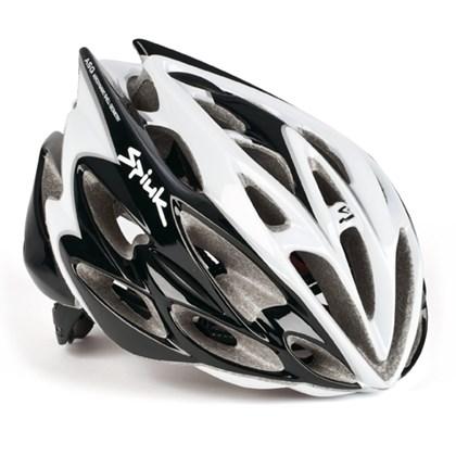 Capacete Bike Spiuk Nexion Preto e Branco