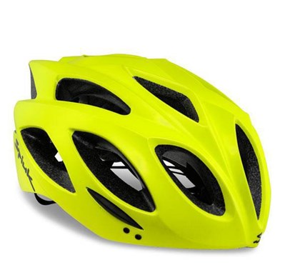 Capacete Bike Spiuk Rhombus Amarelo Neon Fosco