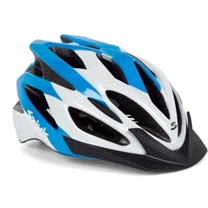 Capacete Bike Spiuk Tamera Azul Branco