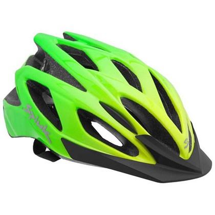 Capacete Bike Spiuk Tamera Evo Amarelo e Verde