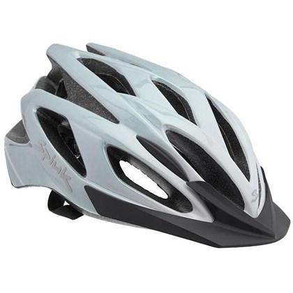Capacete Bike Spiuk Tamera Evo Branco e Prata