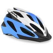 Capacete Bike Spiuk Tamera Lite Azul e Branco