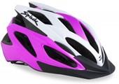 Capacete Bike Spiuk Tamera Lite Rosa e Branco