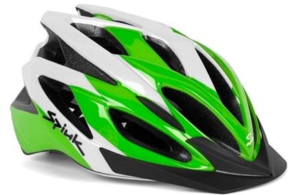 Capacete Bike Spiuk Tamera Verde Branco