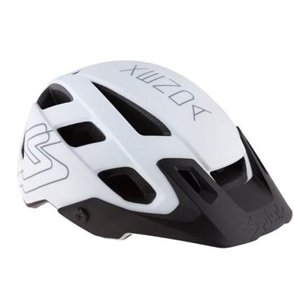 Capacete Bike Spiuk Xenda 2016 Branco e Preto