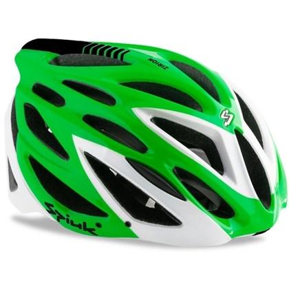 Capacete Bike Spiuk Zirion 2016 Verde Branco