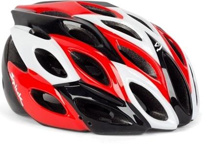 Capacete Bike Spiuk Zirion Branco Vermelho