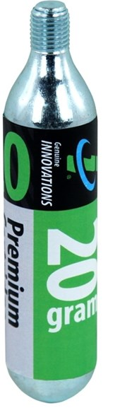 Cartucho de CO2 Genuine Innovations 20g - com rosca (2 unidades)