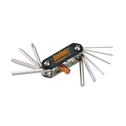 Chave canivete multifunção IceToolz 11 peças