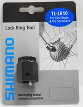 Chave Shimano para Remoção do Anel Center Look e Cassete HG TL-LR10