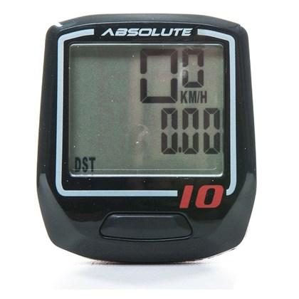 Ciclocomputador Absolute Irix10 Preto Com Fio