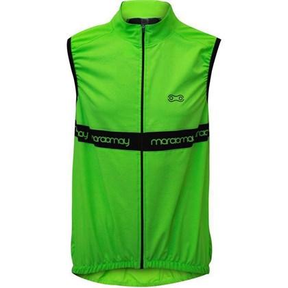 Colete Corta Vento Marcio May Sports Elite Verde Fluor