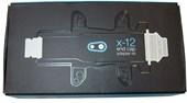 Conversor Crank Brothers DE Cubo Traseiro X-12 - DE 135mm Para 142mm
