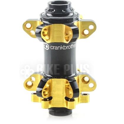 Cubo Dianteiro Crank Brothers Cobalt 11 Qr15 Preto e Dourado