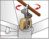 Extrator de Rolamento Central IceToolz BB30/BB86/BB92