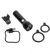 Farol para Bike Absolute Recarregável USB 3 Funções