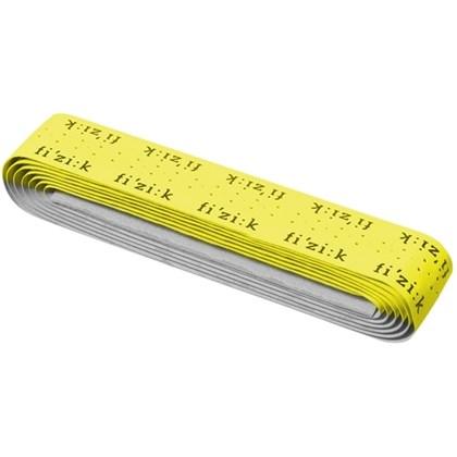 Fita de Guidão Fizik com Logo Amarela