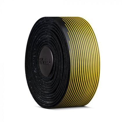 Fita de Guidão Fizik Vento Tacky Preto e Amarelo