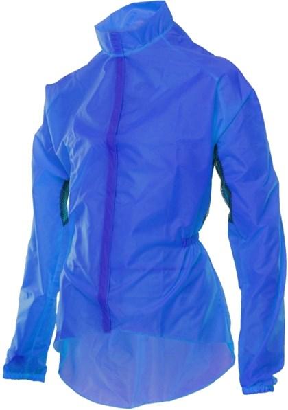 Jaqueta Capa de Chuva para Ciclista Mauro Ribeiro Azul