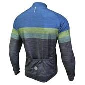 Jaqueta Ciclismo Barbedo Lancaster Cinza e Azul