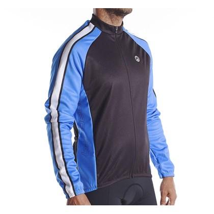 Jaqueta Ciclismo Barbedo Preta e Azul