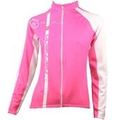 Jaqueta Ciclismo Feminina Barbedo Rosa