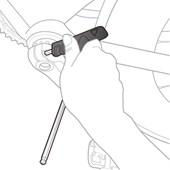 Jogo de chave allen Topeak T-Handle DuoHex Wrench Set TPS-SP01