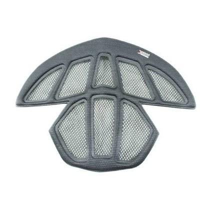 Kit Almofadas de Espuma Com Rede Protetora Para Capacete Abus Aventor / Viantor