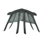 Kit Almofadas de Espuma Com Rede Protetora Para Capacete Abus Moventor