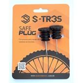 Kit Reparo Tubeless Session Safe Plug para Encaixe no Guidão da Bike