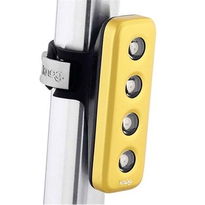 Lanterna para Bike Traseira Knog Blinder 4V Dourado