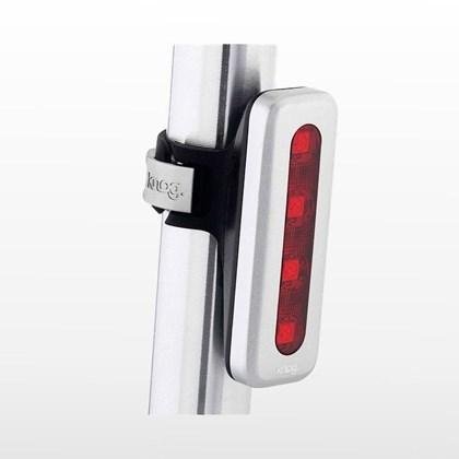 Lanterna para Bike Traseira Knog Blinder 4V Pulse Prata
