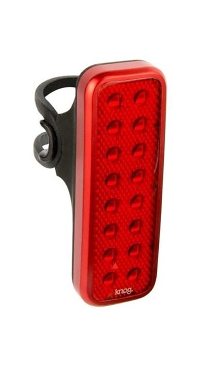 Lanterna para Bike Traseiro Knog Blinder Mob V Kid Grid Vermelho