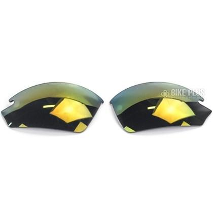 Lente para Óculos Shimano EQX2 Fume Laranja Espelhada