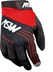 Luva Bike ASW Active Dedo Longo Vermelha