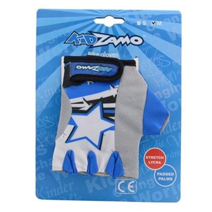Luva Bike Infantil KidZamo Estrela Azul