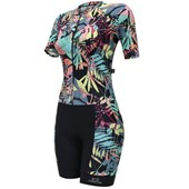 Macaquinho Ciclismo Feminino Marcio May Slim Fit Black Beautiful