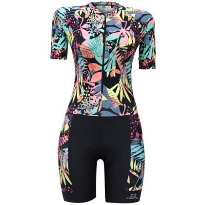 Macaquinho Ciclismo Feminino Marcio May Slim Fit Black Beautiful