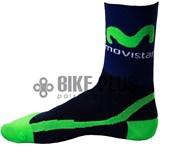 Meia Ciclismo Movistar
