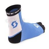 Meia Ciclismo Scott RC Pro Azul Branca