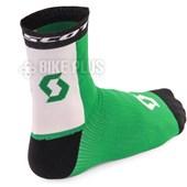 Meia Ciclismo Scott RC Pro Preta Verde