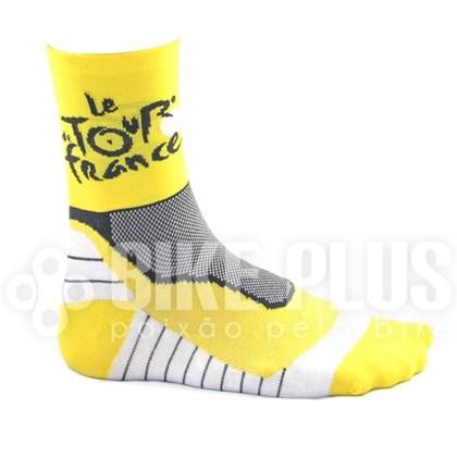Meia Ciclismo Tour de France Amarela