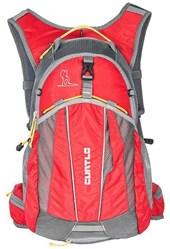 Mochila Curtlo Trail Lite Cinza e Vermelha