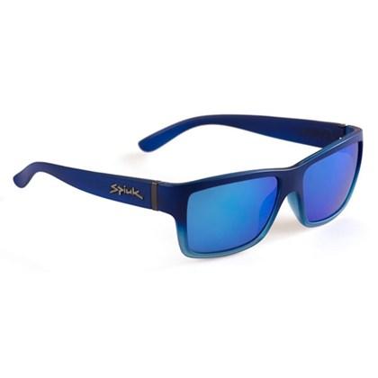 Óculos Casual Spiuk Halley Lente Azul Espelhada Armação Azul
